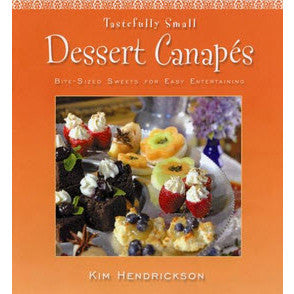 Tastefully small finger sandwiches cookbook adirondack for Canape cookbook