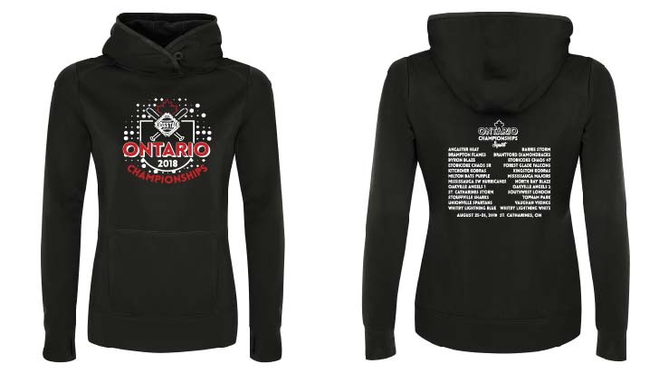 OSSTA PROVINCIALS SOFTBALL EVENT TECH HOODIE