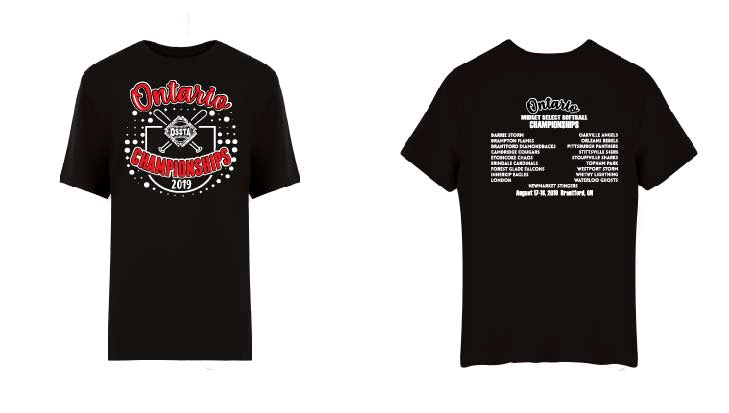 OSSTA PROVINCIALS SOFTBALL EVENT DRI-FIT TEE SHORT SLEEVE