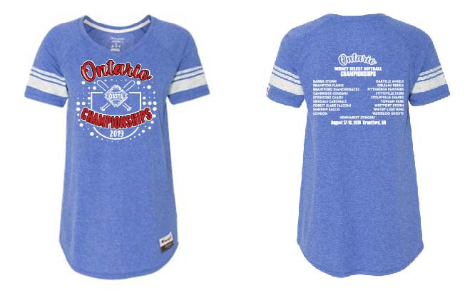 OSSTA PROVINCIALS SOFTBALL EVENT CHAMPION SHORT SLEEVE SHIRT