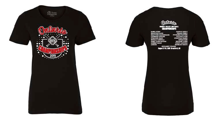 OSSTA PROVINCIALS SOFTBALL EVENT COTTON TEE SHORT SLEEVE