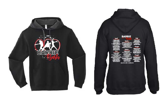 BARRIE BASH SOFTBALL EVENT FLEECE HOODIE ADULT