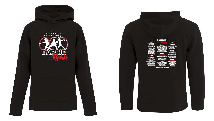 BARRIE BASH SOFTBALL EVENT FLEECE HOODIE YOUTH
