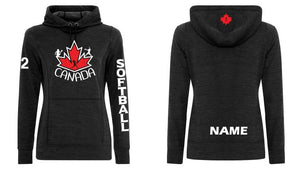 Custom Ladies Softball Dynamic Fleece Tech Hoodie