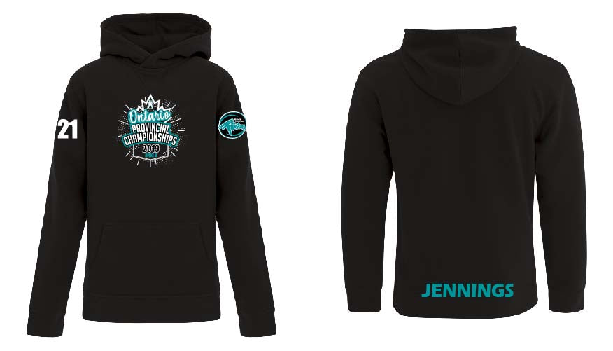 2019 Twisters Provincial Youth Fleece Hoodie
