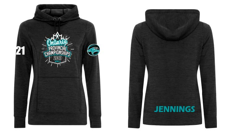 2019 Twisters Provincial Ladies Dynamic Tech Hoodie