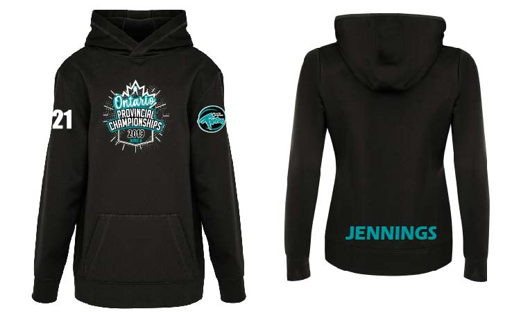 2019 Twisters Provincial Youth Tech Hoodie