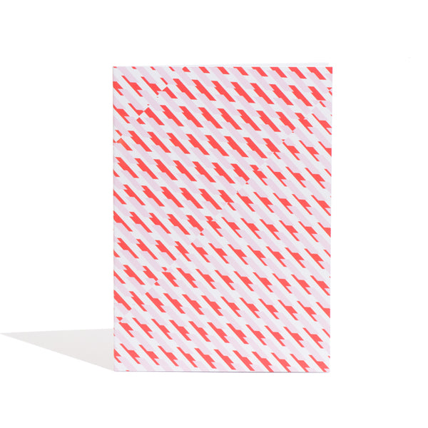 A4 'Conceal' Notebook in Red + Pink