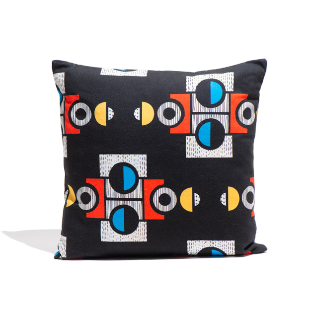 Black Convene Cushion