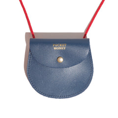 Blue Pocket Money Pouch