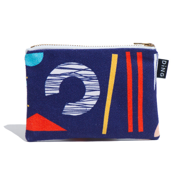 Collage Zip Pouch (S)