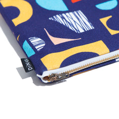 Collage Zip Pouch (L)