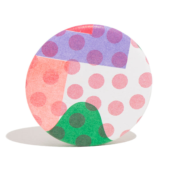 DOT Riso Badge
