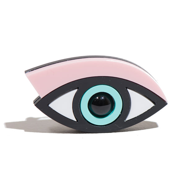 Pink Easy on the Eye Brooch