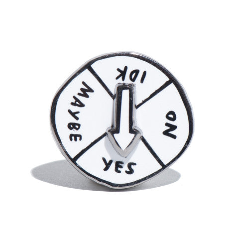Indecisive Spin Pin