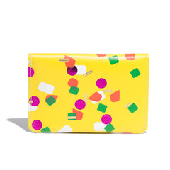 Yellow Tutti Frutti Card Holder