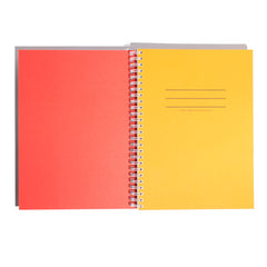 Hardcover Notebook in Red Fracture
