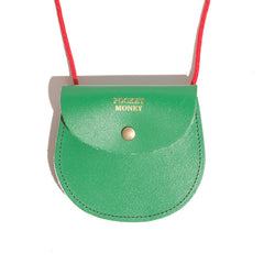 Green Pocket Money Pouch