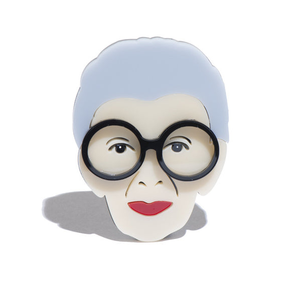 Super Iris Apfel Brooch