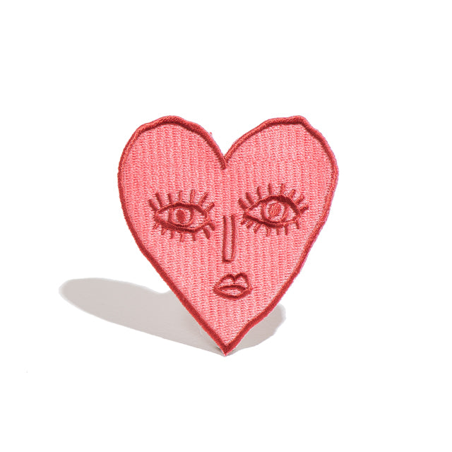 Fragile Heart Iron-On Patch