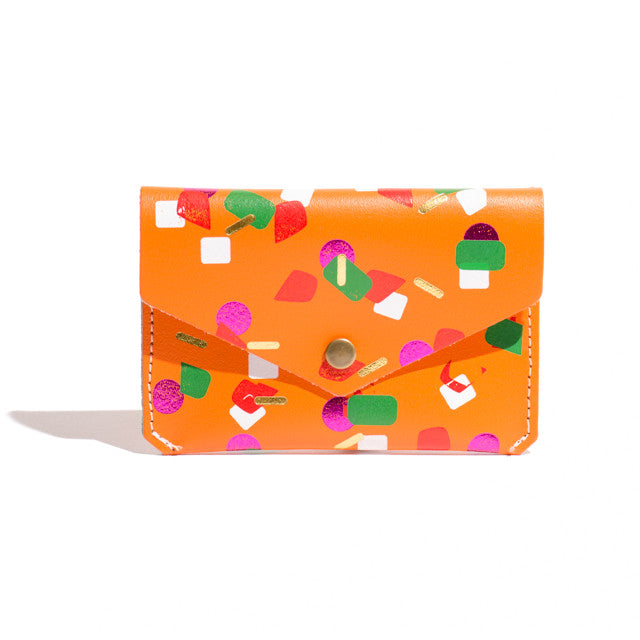 Tutti Frutti Card Holder - Orange