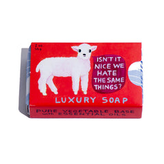 We Hate The Same Things Soap Bar