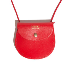 Pocket Money Pouch in Red