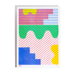 Limited Edition Stripe Riso Print