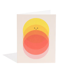 Sunrise to Sundown Mini Card