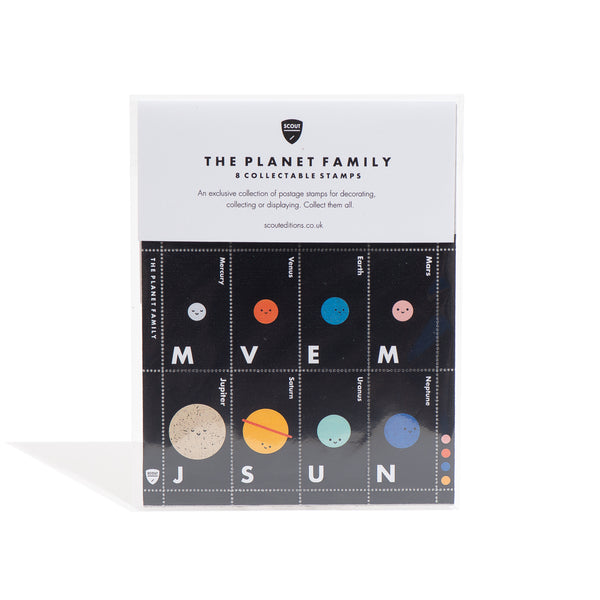 Planet Family Collectable Stamp Set
