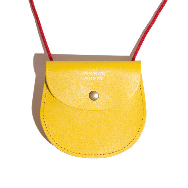 Yellow Pocket Money Pouch