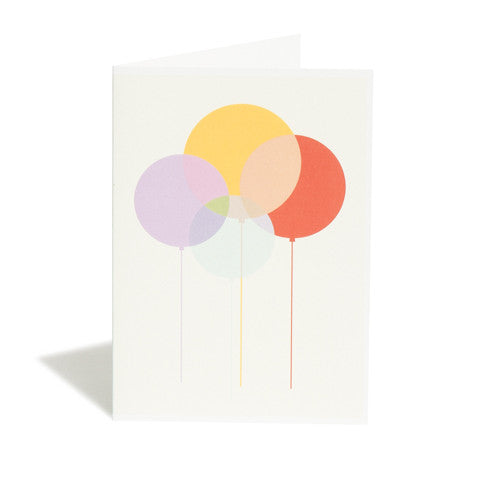 Balloons Greetings Card