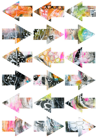 ART POPS™ Sticker Arrows - Urban Fringe Collection