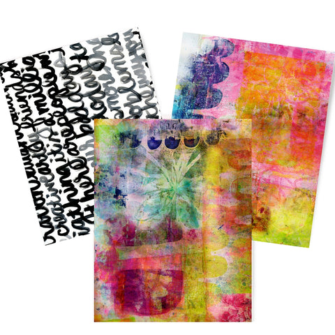 Parede Artist Papers Set of Three - Digital Elements