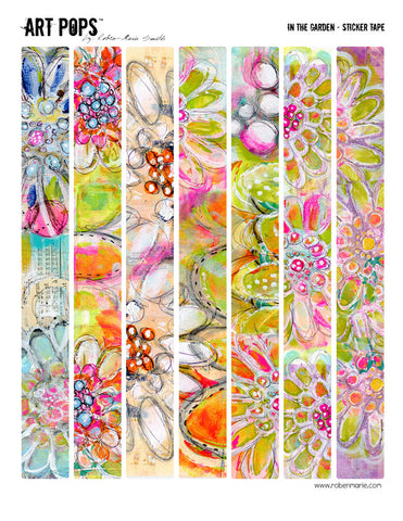 ART POPS™ Sticker Tape - In the Garden Collection