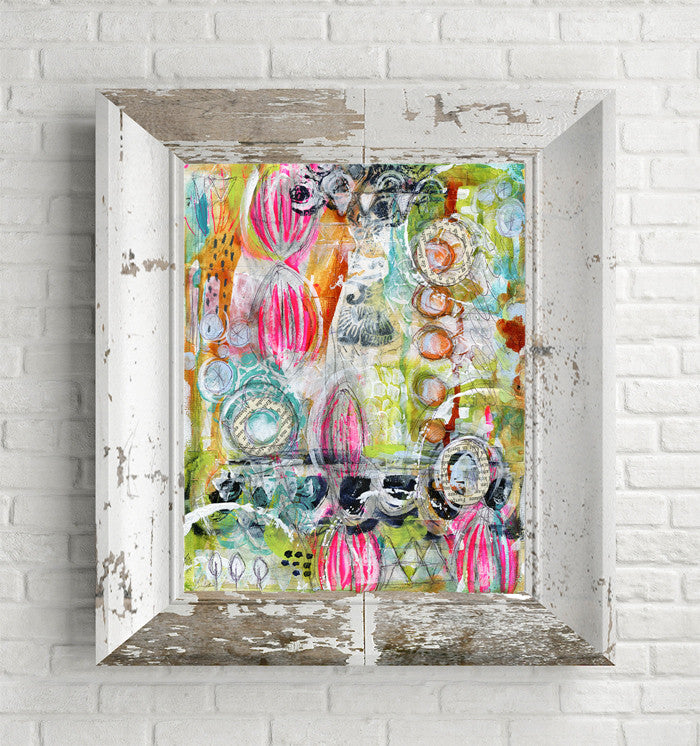 Mixed Media Painting - Lightfair