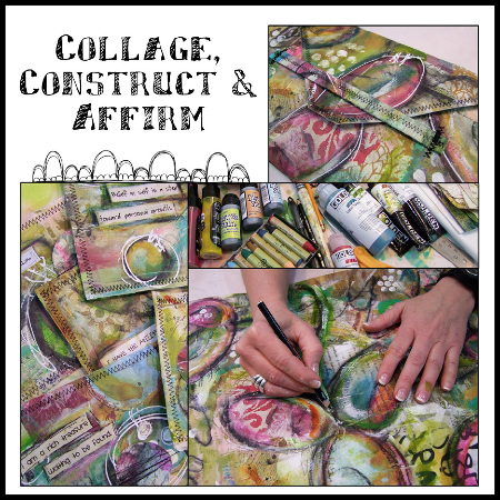 Collage, Construct & Affirm Workshop