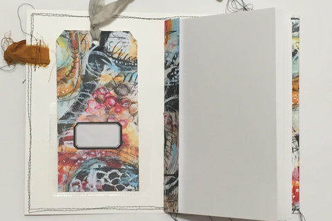 Art Print Pocket Journal and Cards - Three