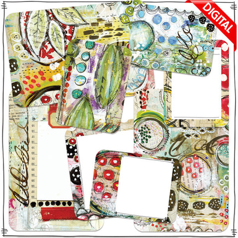 ART POPS™ Cards from the Huckleberry Holiday™ Collection - Digital Elements
