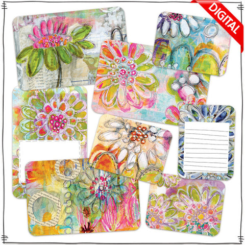 ART POPS™ Cards - In the Garden Collection - Digital Elements