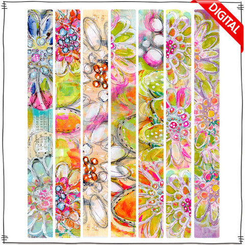 ART POPS™ Tape - In the Garden Collection - Digital Elements