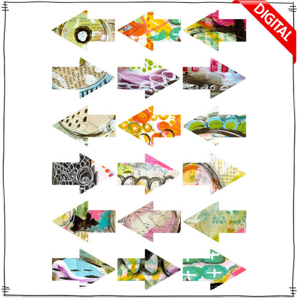 ART POPS™ Arrows - Lo's Serendipty™ Collection - Digital Elements