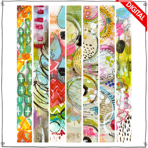 ART POPS™ Tape - Lo's Serendipity™ Collection Digital Elements