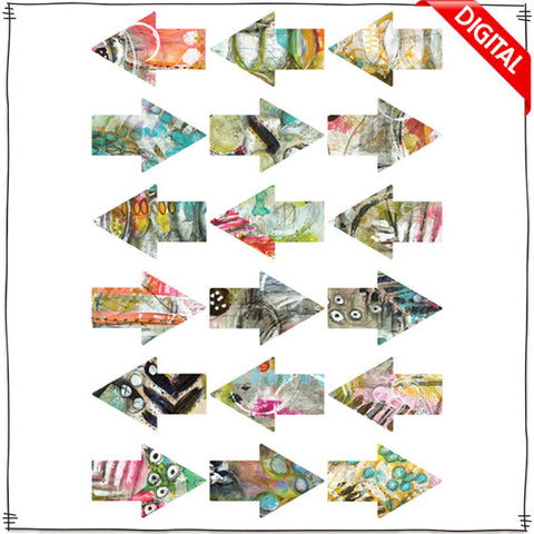 ART POPS™ Arrows - Sanibel Days™ Collection - Digital Elements