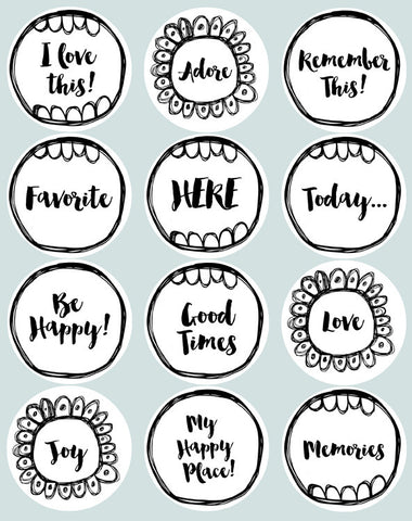 Sentiments Sticker Pack