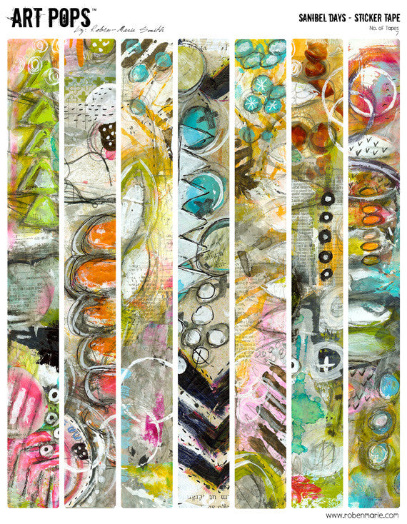 ART POPS™ Sticker Tape from the Sanibel Days™ Collection