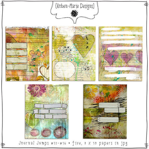 Journal Jumps Bundle Pack - Digital Elements