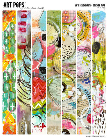 ART POPS™ Sticker Tape from the Lo's Serendipity™ Collection