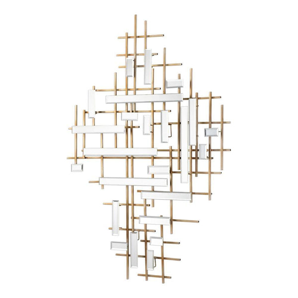 APOLLO MIRRORED WALL DECOR - Al Rugaib Furniture (4483208380512)