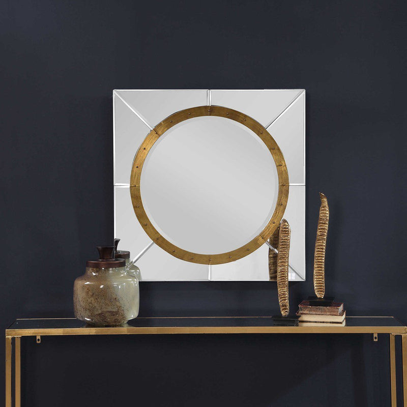 MAYA SQUARE MIRROR - Al Rugaib Furniture (4612674584672)